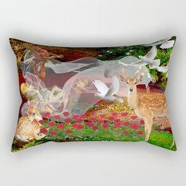 Where The Wild Roses Grow. Rectangular Pillow