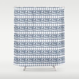 The lace pattern. Shower Curtain