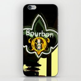 New Orleans Bourbon Street Bar iPhone Skin