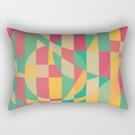 Abstract Graphic Art - Contemporary Music Rectangular Pillow