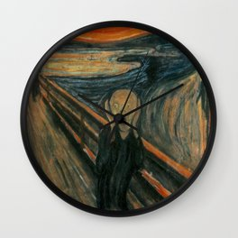 The Scream - Edvard Munch Wall Clock