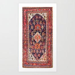 Qashqa'i Kashkuli Fars Southwest Persian Rug Art Print