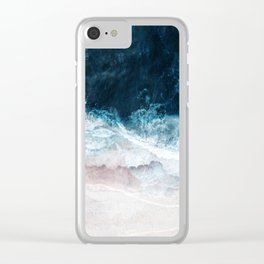Blue Sea II Clear iPhone Case