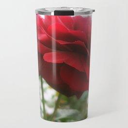 Red Rose with Light 1 Blank P5F0 Travel Mug