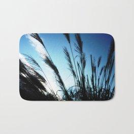 Feeling Free #1 #grasses #BlueSky #art #society6 Bath Mat