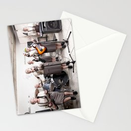 Rock Band Stationery Cards