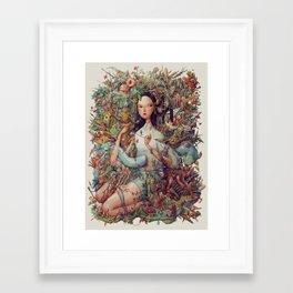 Eden. Framed Art Print