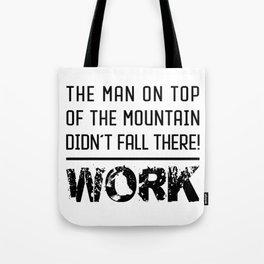 Work - Hustle Motivation for Entrepreneurs Fitness Trainer And Bodybuilder Tote Bag
