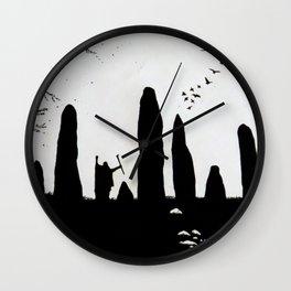 The Druid Wall Clock