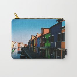Venice Print Set, Venice Wall Art, Italy Photography Gallery Wall, Europe Wall Art, Europe Decor 5x5 Carry-All Pouch