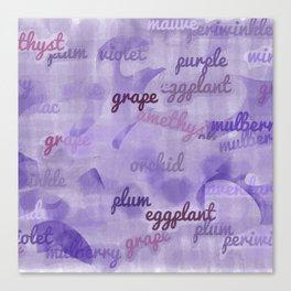 Synonyms Canvas Print