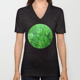 Dianthus Green Trick Unisex V-Neck