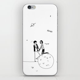 the summertime, and butterflies iPhone Skin
