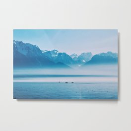 And Then I Found Peace Metal Print