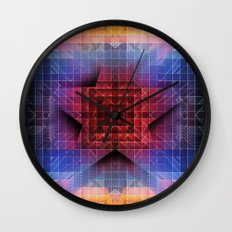 Cherub Under the Microscope: 5 Wall Clock