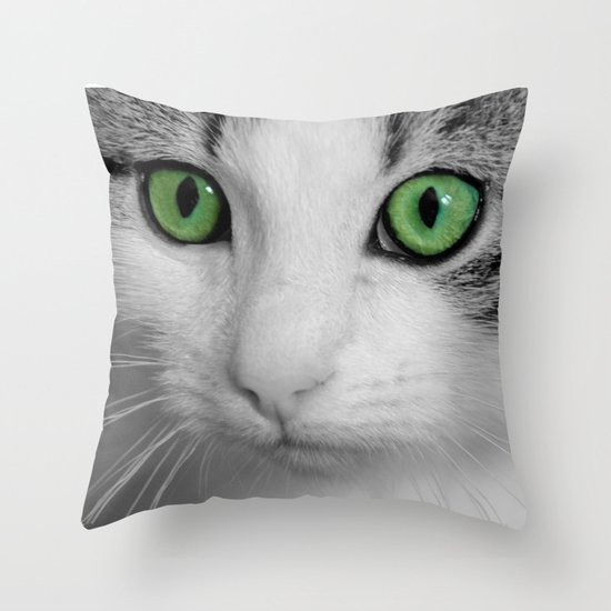KITTURE Throw Pillow