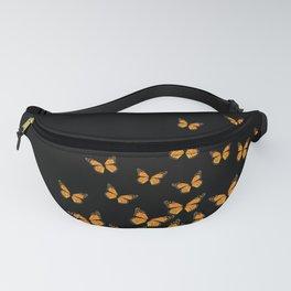 Imperial Butterfly Dark Fanny Pack