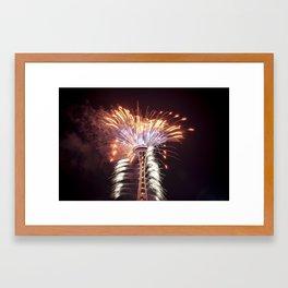 2016 New Years Day IV Framed Art Print