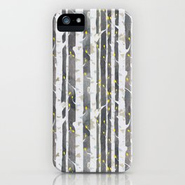 Gamueta - Trees Pattern iPhone Case
