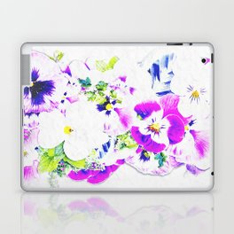 Paper Flowers Laptop & iPad Skin