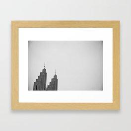 Akureyrarkirkja Framed Art Print