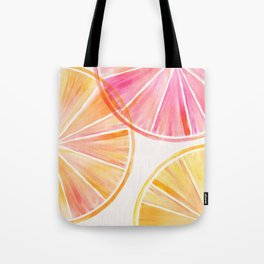 Summer Citrus Party Tote Bag