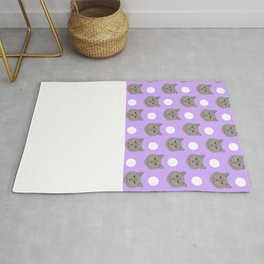 Kai - British shorthair cat gifts for cat lovers and cat lady gifts.  Cat people gifts Rug