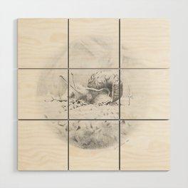 Cornelius Struts His Stuff Wood Wall Art
