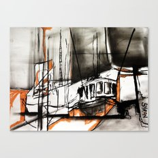 The Trawlers Canvas Print