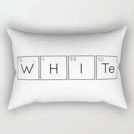 WHITe Chemical Formula Rectangular Pillow