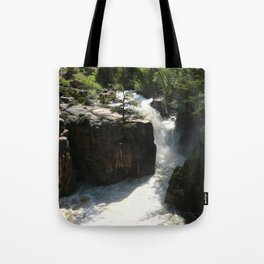 Roaring Waters Of Shell Falls Tote Bag