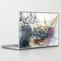 italy Laptop & iPad Skins featuring italy dualism by Andreas Derebucha