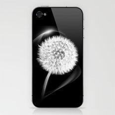 LIFE IN MONO - Dandelion iPhone & iPod Skin