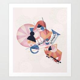 Bauhaus Summer Art Print