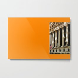 Americana - Wall Street - Manhatten - NYC Metal Print