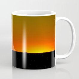 There's A Feeling I Get When I Look To The West #1 (Chicago Sunrise/Sunset Collection) Coffee Mug