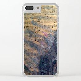 Musical Art Clear iPhone Case
