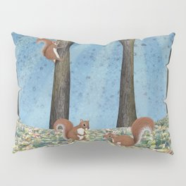 sunshine squirrels Pillow Sham