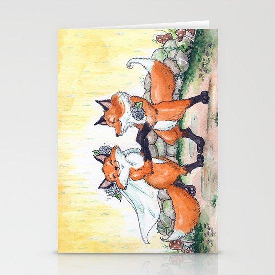 Fox Wedding  Stationery Cards