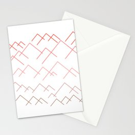 MOUNTAIN LAND Stationery Cards