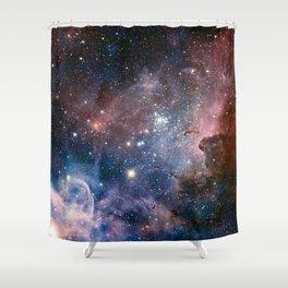 The Carina Nebula Shower Curtain