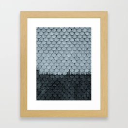 SHELTER / slate Framed Art Print