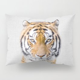 Tiger - Colorful Pillow Sham