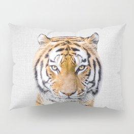 Tiger - Colorful Pillow Sham