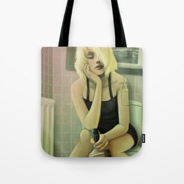Whiskey in the Bathroom Tote Bag