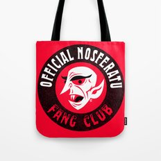 Nosferatu Fang Club Tote Bag
