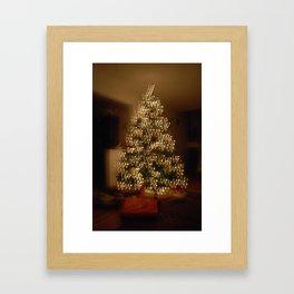 "Christmas Tree - ""W"" Framed Art Print"
