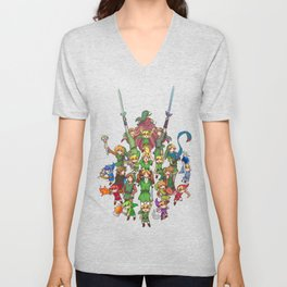 The Legend of Zelda 30th anniversary Unisex V-Neck