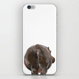 Hippo Butt iPhone Skin