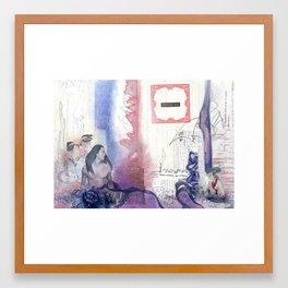 Memories of Snow Framed Art Print